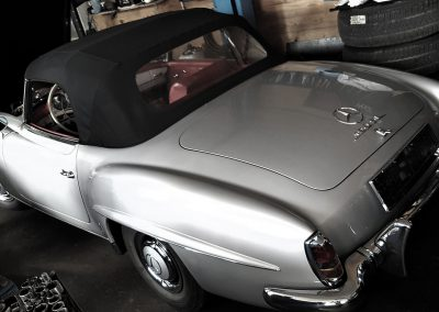 Mercedes 190 SL Grey