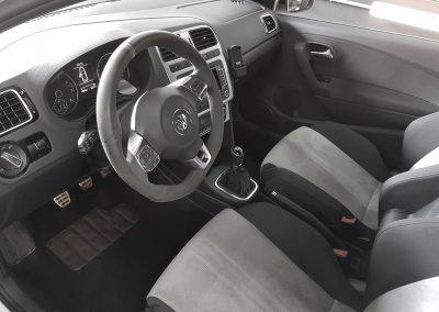 Golf WRC Innenraum