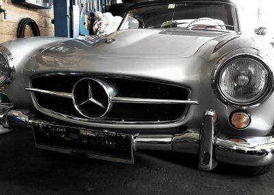 Mercedes 190 SL Front