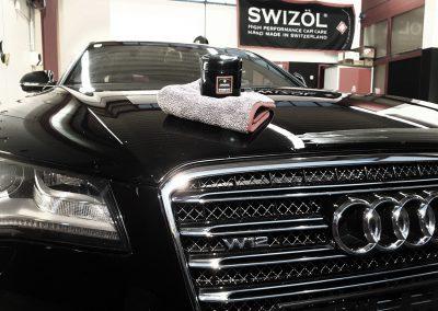 Audi W12 Front
