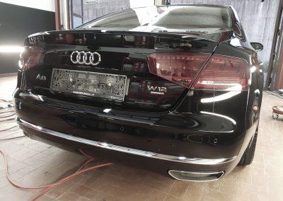Audi W12 Heck